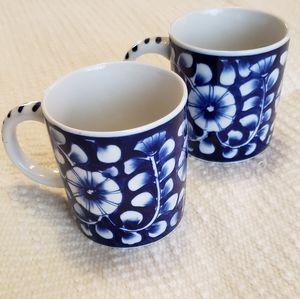 Set of Vietnamese Ceramic Mugs